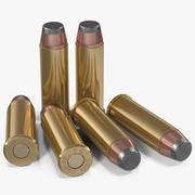 Cartuchos 44 Magnum modelo 3d