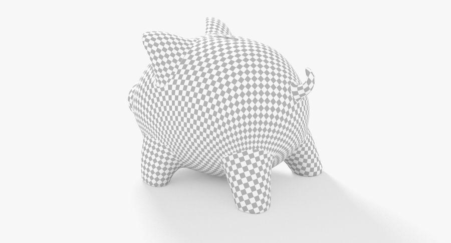 Piggy Bank Pig royalty-free 3d model - Preview no. 16