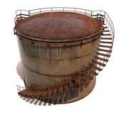 貯油タンク 3d model