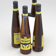 Metaxa 5 Stars Brandy 750ml Bottle 3d model