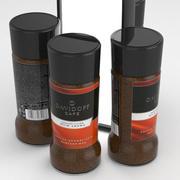 Davidoff Cafe Coffe Jar 100g 3d model