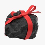 Steenkool met lint 02 3d model