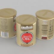 Coffe Can Lavazza Qualita Oro 250g Can 3d model