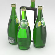 Perrier Water Bottle 750ml 3d model