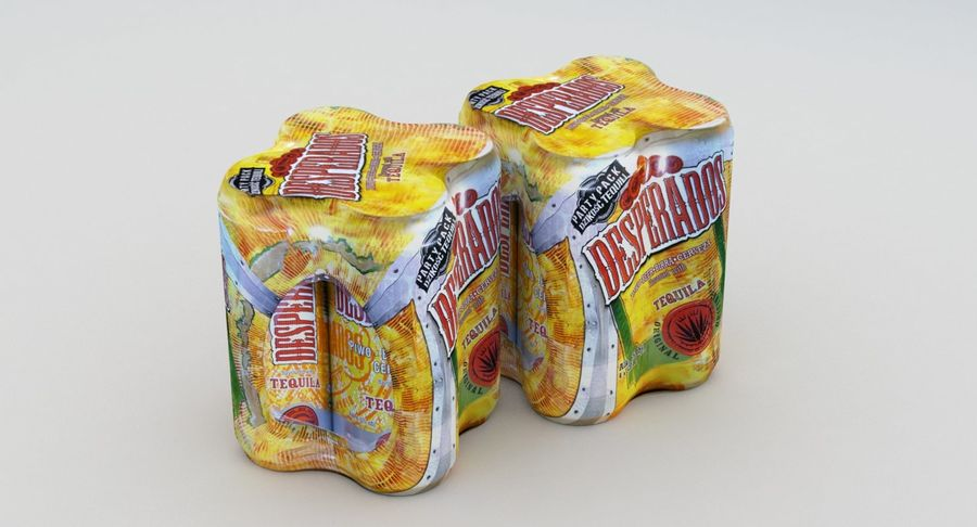 Desperados 500ml Can 4pack 3d Model 19 Max Free3d