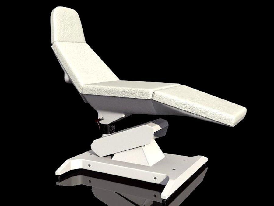 医疗椅 royalty-free 3d model - Preview no. 1