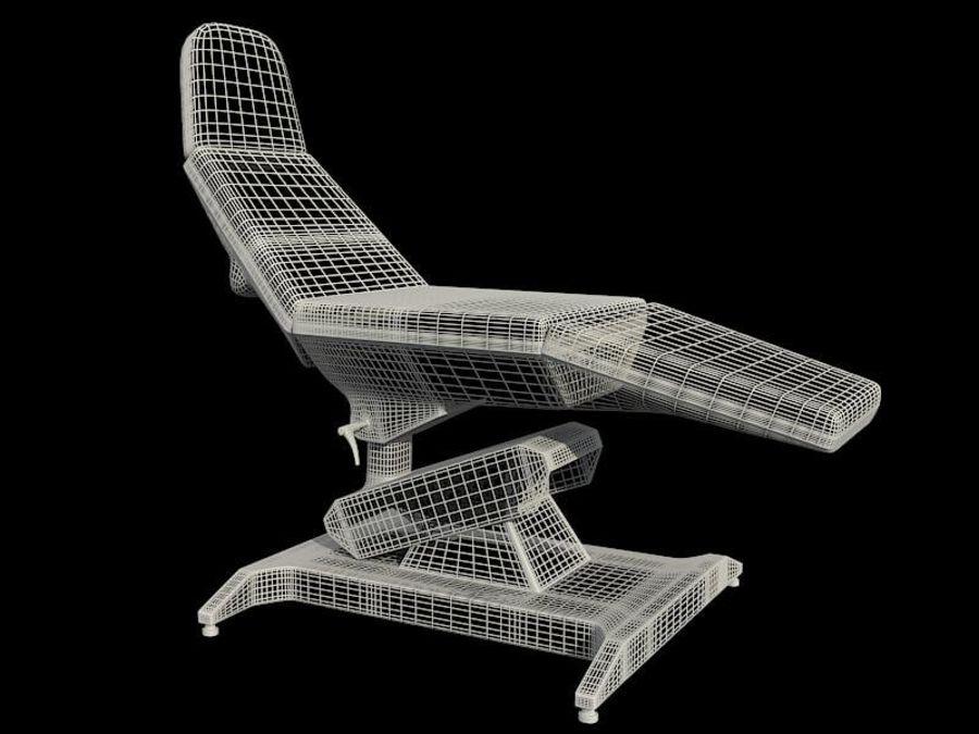 医疗椅 royalty-free 3d model - Preview no. 3