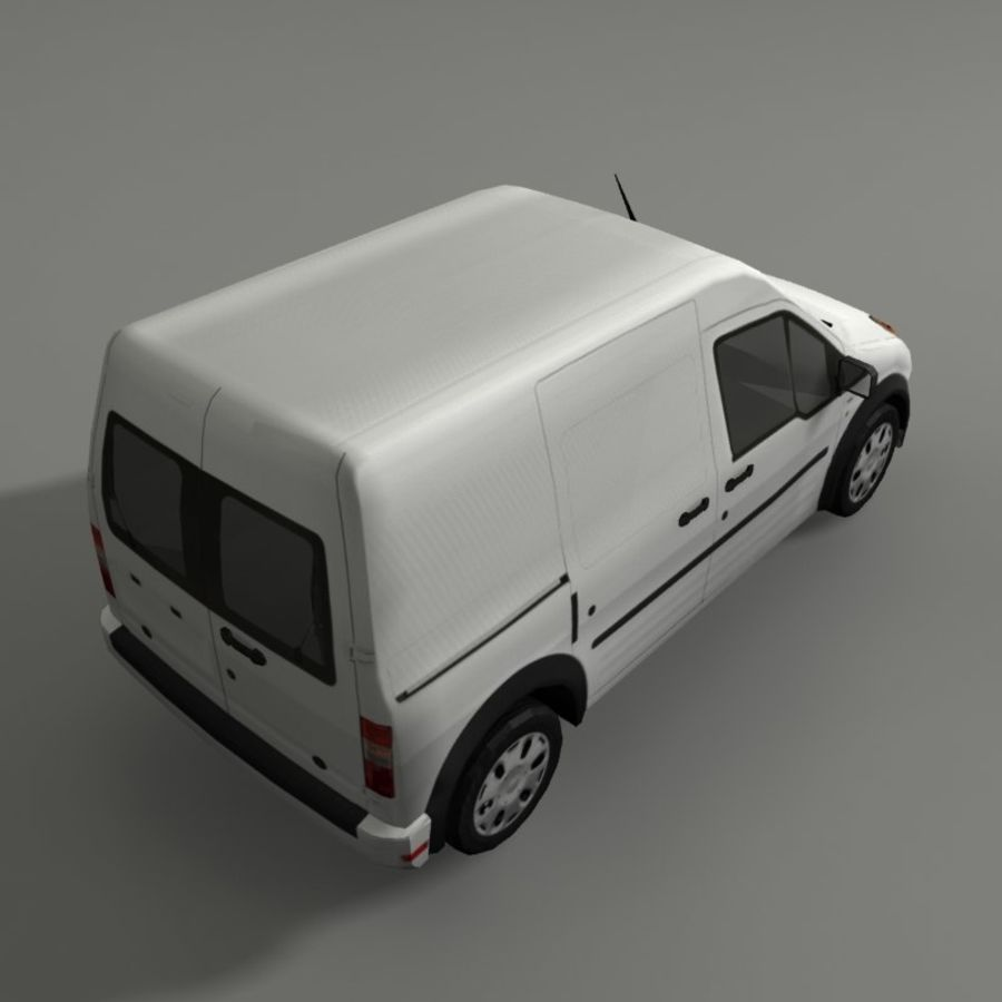 Transit Vehicle royalty-free 3d model - Preview no. 4