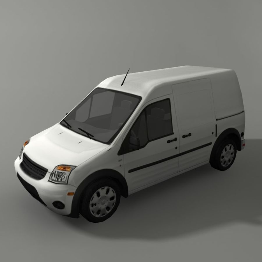 Transit Vehicle royalty-free 3d model - Preview no. 2