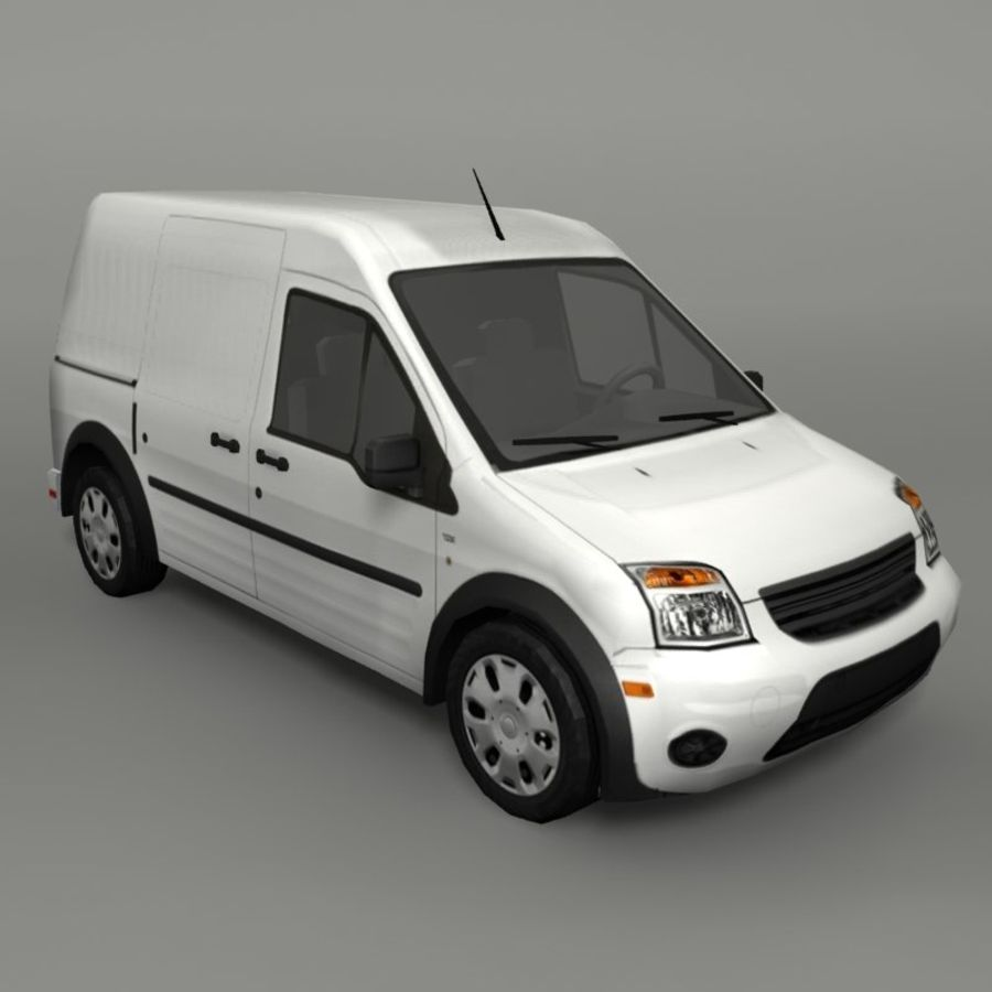 Transit Vehicle royalty-free 3d model - Preview no. 1