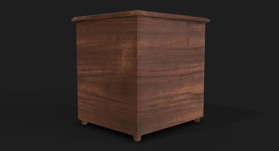 Nachttisch royalty-free 3d model - Preview no. 9