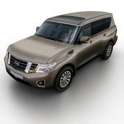 Nissan Patrol / Armada 2017 3d model