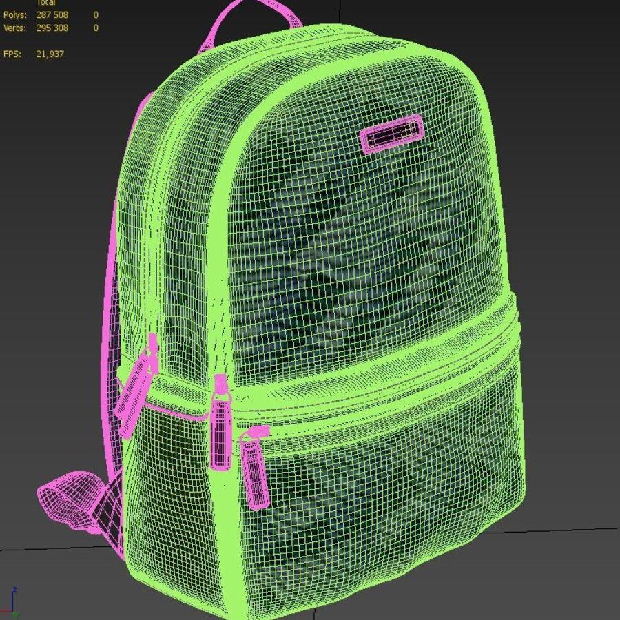 GREEN 3D MESH BACKPACK