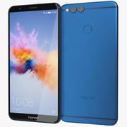 Honor 7X Blue 3d model