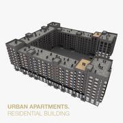 Apartamento Residencial Condominio 3 modelo 3d
