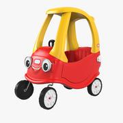Little Tikes Foot To Floor Car 3d model