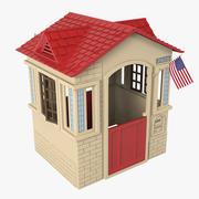 Little Tikes Cape Cottage 3d model