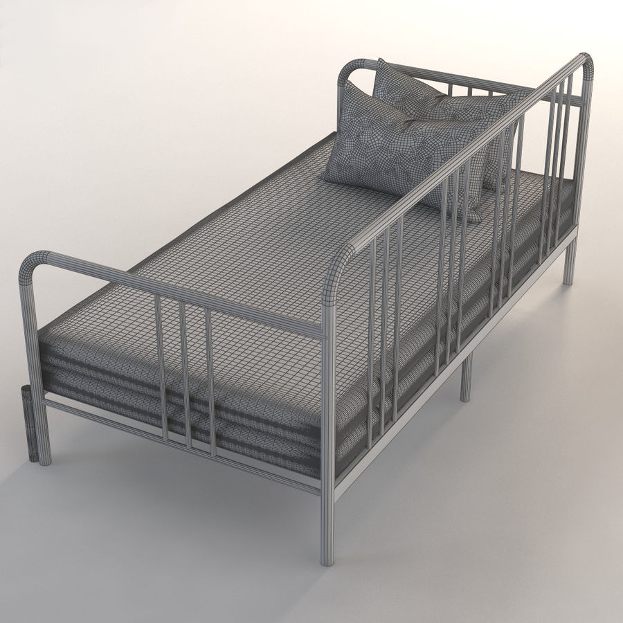 - IKEA Photorealistic Fyresdal Daybed 3D Model $39 - .max .obj .fbx