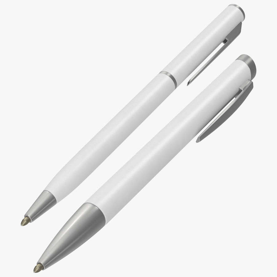 Promotional Ink Pen 01 Mockups Collection royalty-free 3d model - Preview no. 1