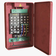 Fuse Electric Box 3d model
