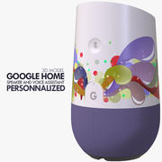 カスタマイズされたGoogle Home Device 3d model