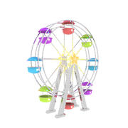 Ferris Wheel Cartoon 3d model