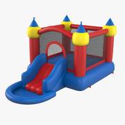 Jump Slide Bouncer 3d model