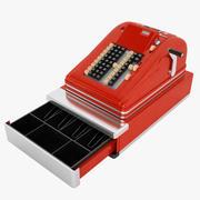 Vintage Cash Register 03 3d model