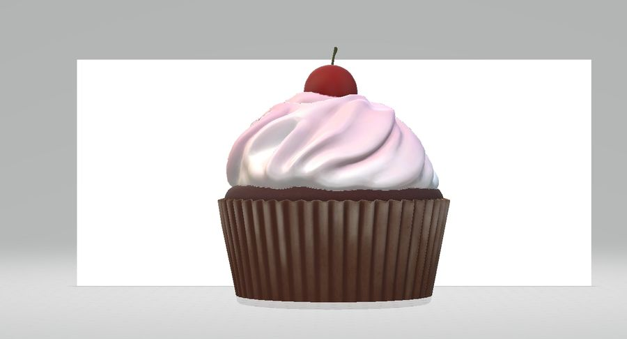 Petit gâteau royalty-free 3d model - Preview no. 1