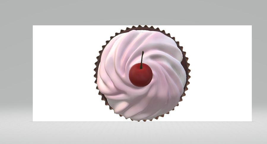 Petit gâteau royalty-free 3d model - Preview no. 5