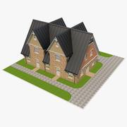 Backsteinhaus_4 3d model