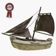 Zeilboot 3d model