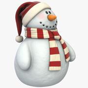 Snowman (02) (Vray + PBR) 3d model