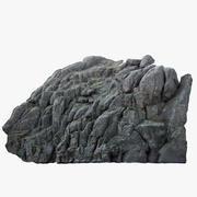 Falaise de pierre 3d model