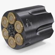 Cilindro Revolver 3d model