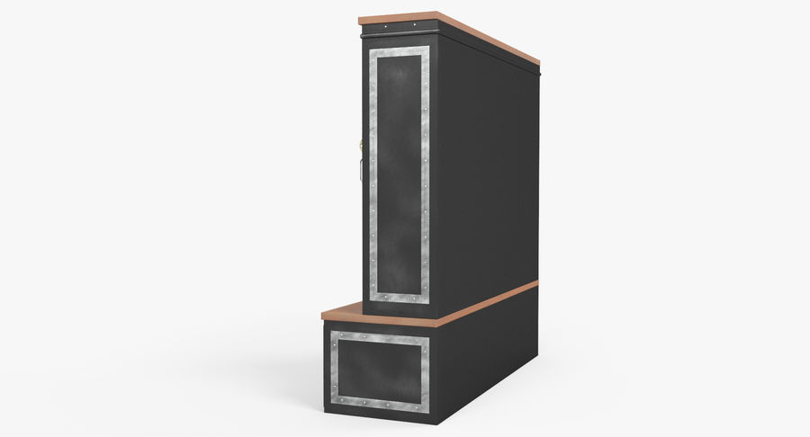 Szafka royalty-free 3d model - Preview no. 7
