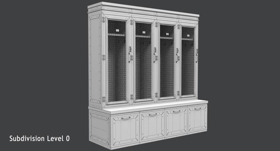 Szafka royalty-free 3d model - Preview no. 15