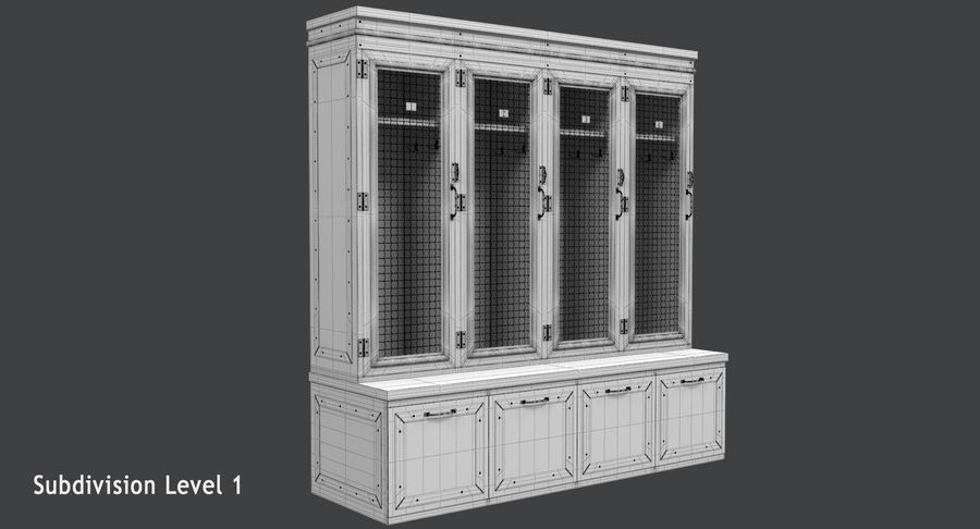 Szafka royalty-free 3d model - Preview no. 16