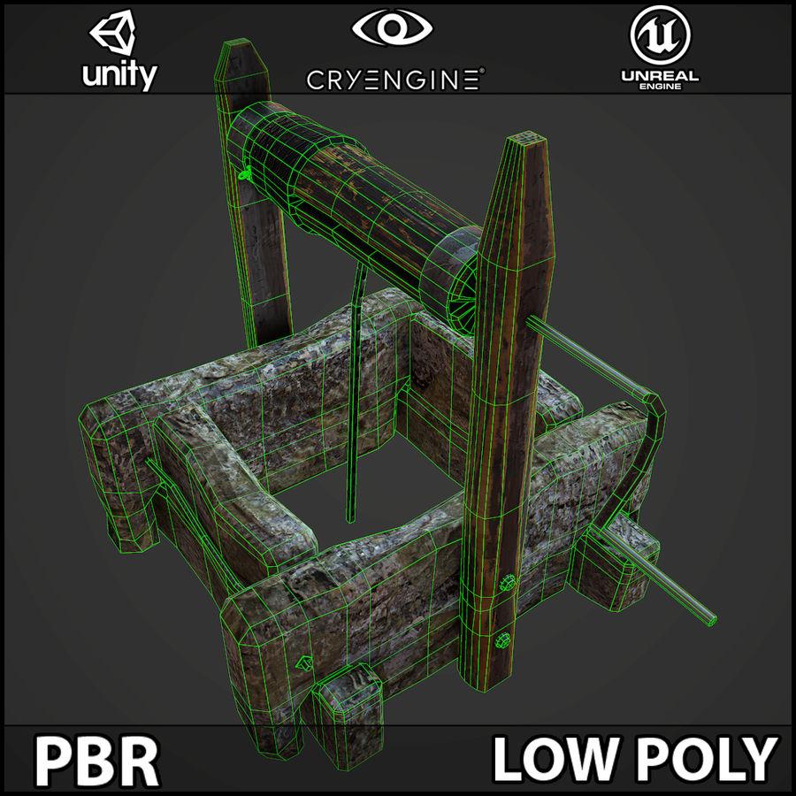 오래 된 잘 PBR 게임 준비 royalty-free 3d model - Preview no. 13
