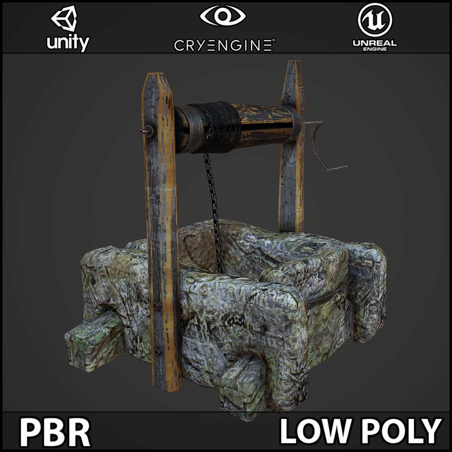 오래 된 잘 PBR 게임 준비 royalty-free 3d model - Preview no. 4