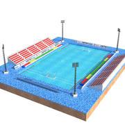 Pólo aquático 3d model