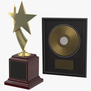 Ödüller Koleksiyonu 3d model