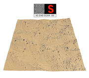 Dune Beach Ground 3d model