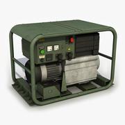 Przenośny generator 3d model