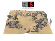 Dune Beach Ground 16K 3d model