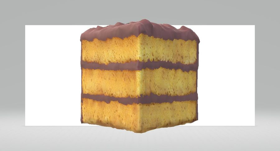 Une part de gâteau royalty-free 3d model - Preview no. 5