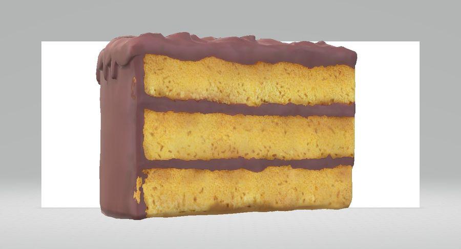Une part de gâteau royalty-free 3d model - Preview no. 1