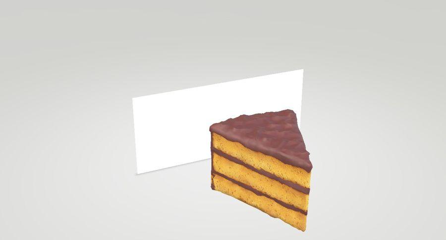 Une part de gâteau royalty-free 3d model - Preview no. 2