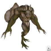 Bat Criatura modelo 3d