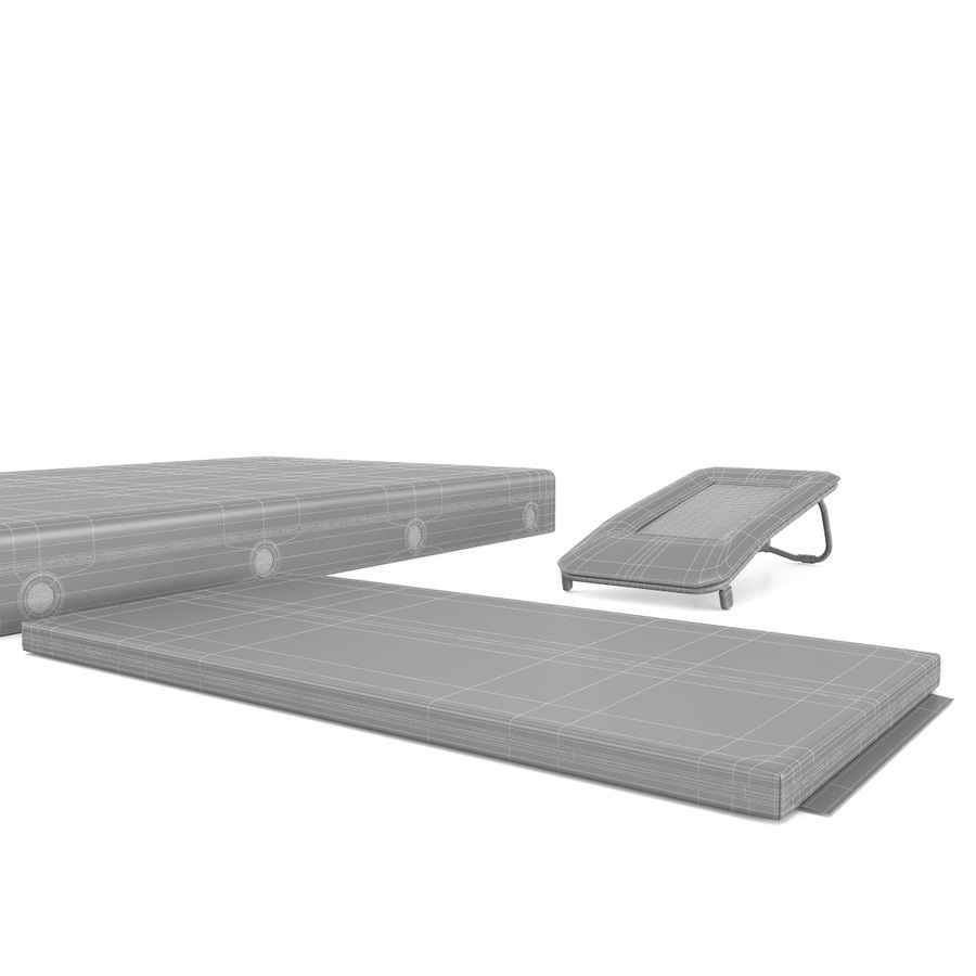 Equipo de gimnasio royalty-free modelo 3d - Preview no. 13